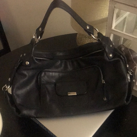 2659672c36a Tod's Bags | Tods Black Leather Purse | Poshmark